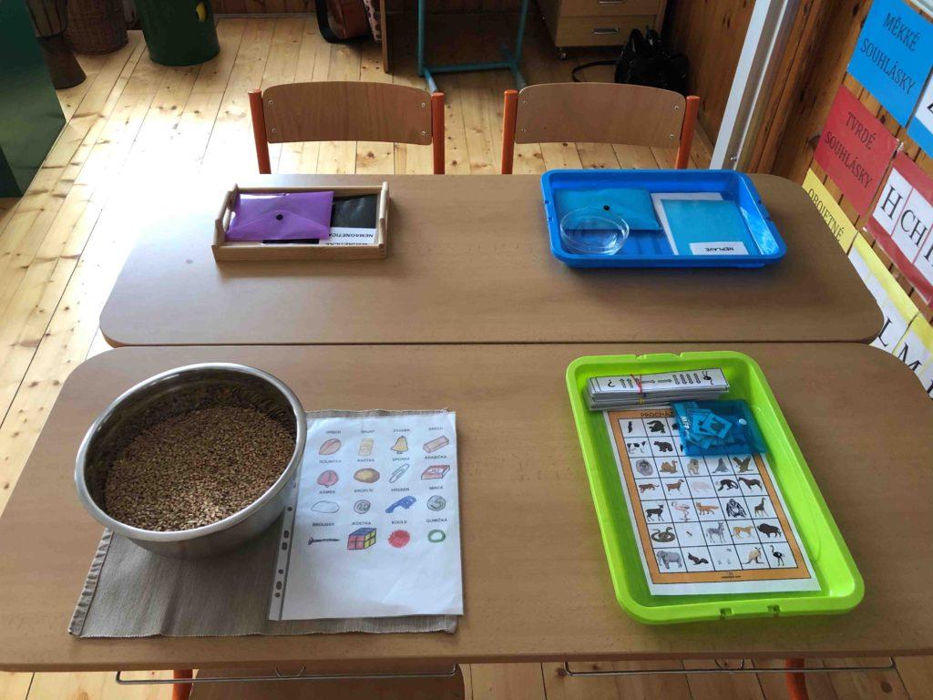 Montessori školička  Příprava na praktické činnosti